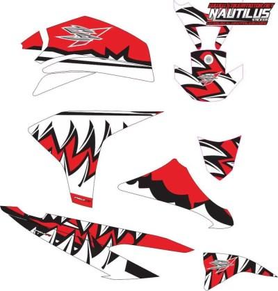 Stiker CS1 shark