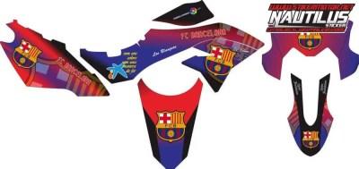 Stiker dtracker 150 barcelona v2