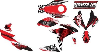 Stiker new CBR 150R FACELIT samurai 2v