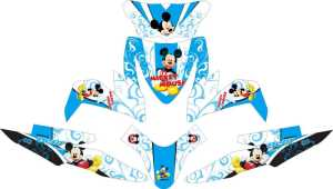 Stiker ALL NEW BEAT ESP mickey mouse