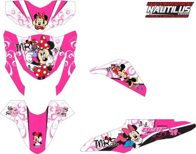 Stiker BEAT fi minnie mouse
