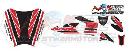 Stker scorpio full body decal