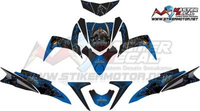 Stiker soul gt black panther