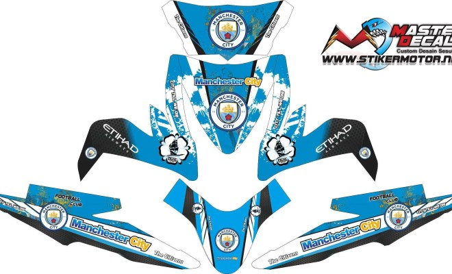 Stiker all new beat esp manchester city