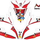 Stiker all new beat esp mickey mouse v2