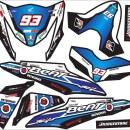 Stiker BEAt FI marquest blue