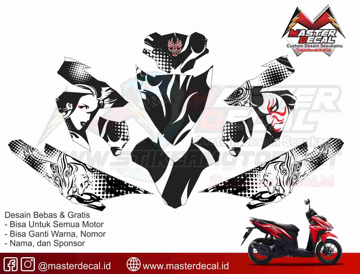 Vario 125 150 esp archives stikermotor net customize without limit