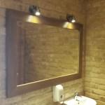 Įrėmintas veidrodis 1400 x 900mm