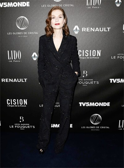 Isabelle Huppert in Roberto Cavalli Couture