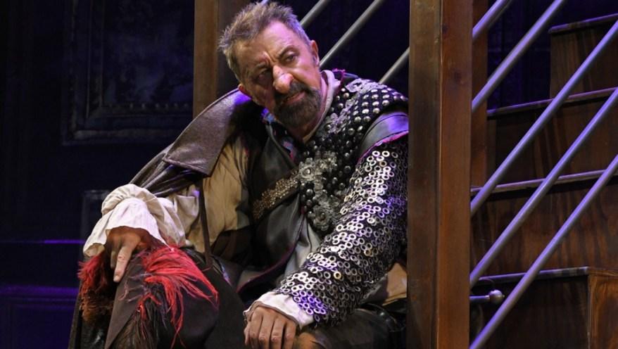 Luca Barbareschi in Cyrano - Foto di Bepi Caroli