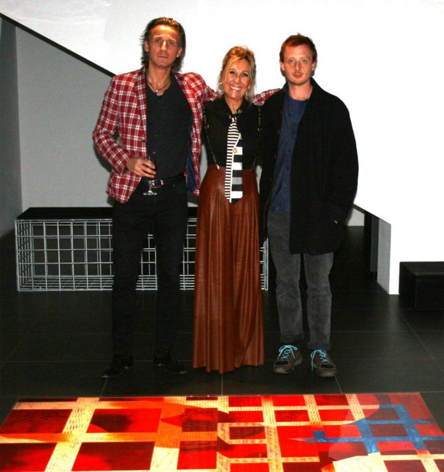 Carlo Siletto,Tiziana Carpinello, Erik Saglia