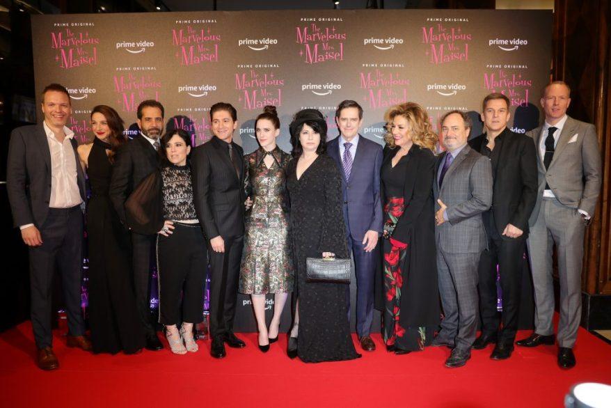 Un momento della premiere di The Marvelous Mrs. Maisel S2 - Milan