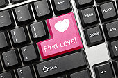 find love on keyboard