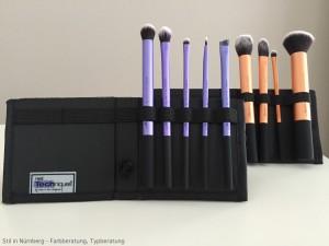 Review Make Up Pinsel von Real Techniques Core Collection Grundierung und Augen