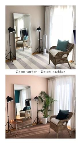Moderne Einrichtung für die Farb- und Stilberatung in Nürnberg.