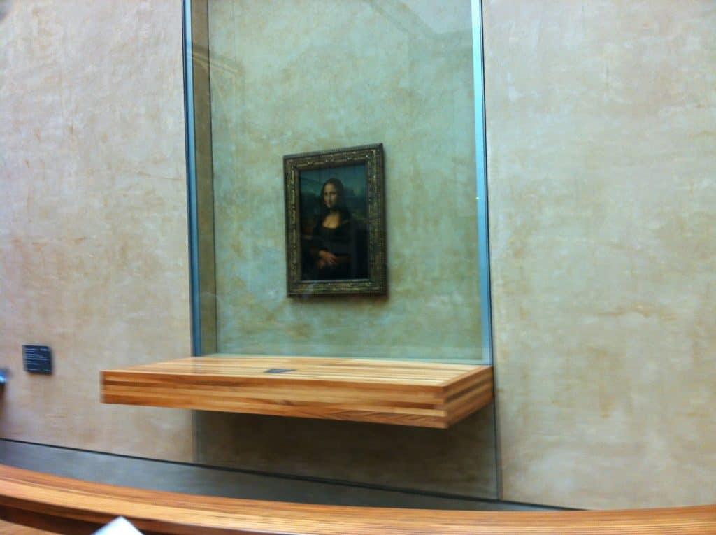 Mona Lisa - Louvre Museum. Paris in 3 days en 2 nights