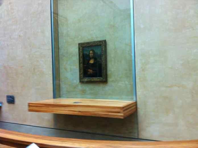 Mona Lisa - Louvre Museum. Paris in 3 Tagen und 2 Nächten