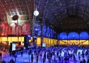 Ice Skating at Grand Palais - Paris