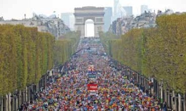 Paris Marathon 2019: route, dates, info, results, videos