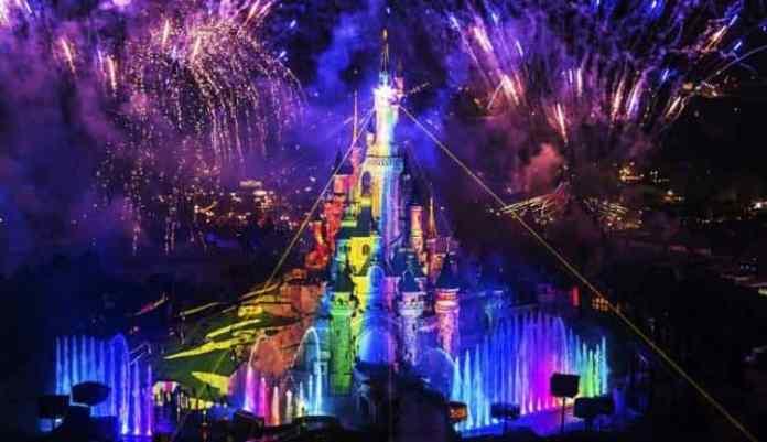 Christmas at Disney Land PAris
