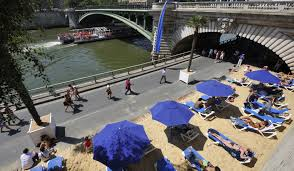 Paris plage in Paris