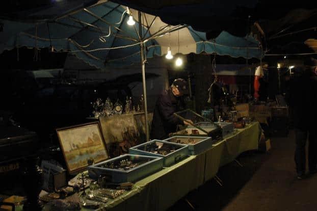 Vanves-Paris rommelmarkt