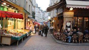 rue Mouffetard - Barrio Latino - Paris en 3 dias