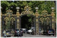 Monceau Park entry Paris