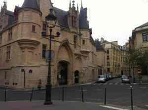 Hotel de Sens in the Marais - Paris
