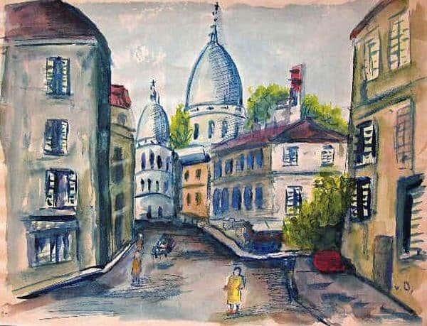 Montmartre y el Sacré Coeur - Van-Dongen