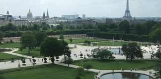 Tuileries Garten - Paris in 3 Tagen und 2 Nächten