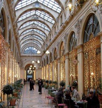 Pasajes cubiertos de París: ideal para un paseo romántico