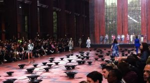 Show Kenzo at Paris Fashion Week