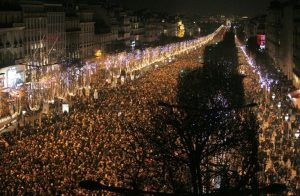 NYE 2018 on Champs Elysées