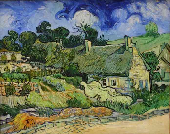 Chaumes de Cordevilles à Auvers sur Oise - Van Gogh