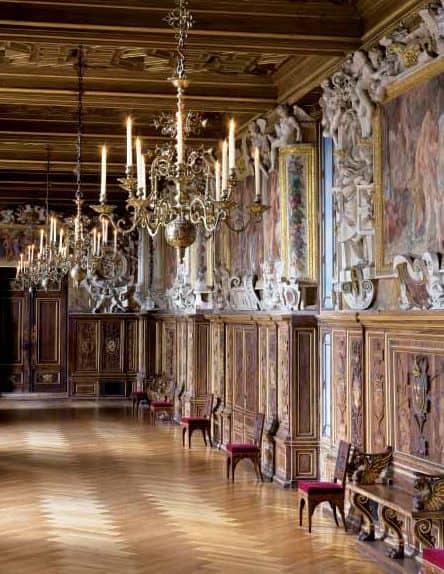 Chateau Fontainebleau - Francois Ier Gallery