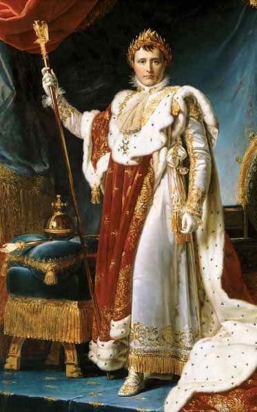 Napoleon 1er Portrait at Fontainebleau