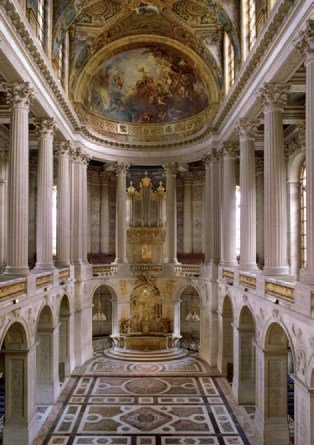 Royal Chapel - Chateau de Versailles