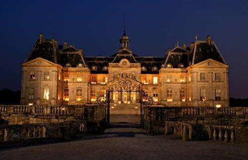 Vaux le Vicomte de noche