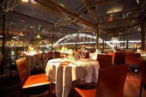 Kerstmis Diner Cruise in Parijs