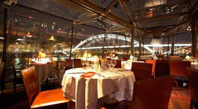 Cena Crucero Nochebuena en París