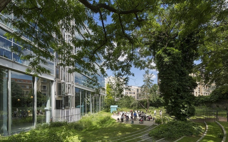 Cartier Foundation for Contemporary Art in Paris