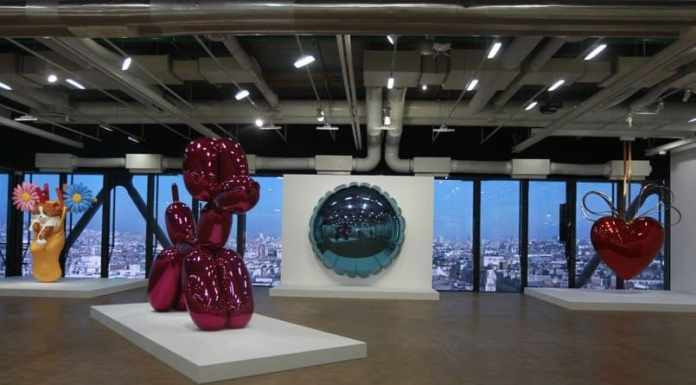 Jeff Koon at Centre Pompidou