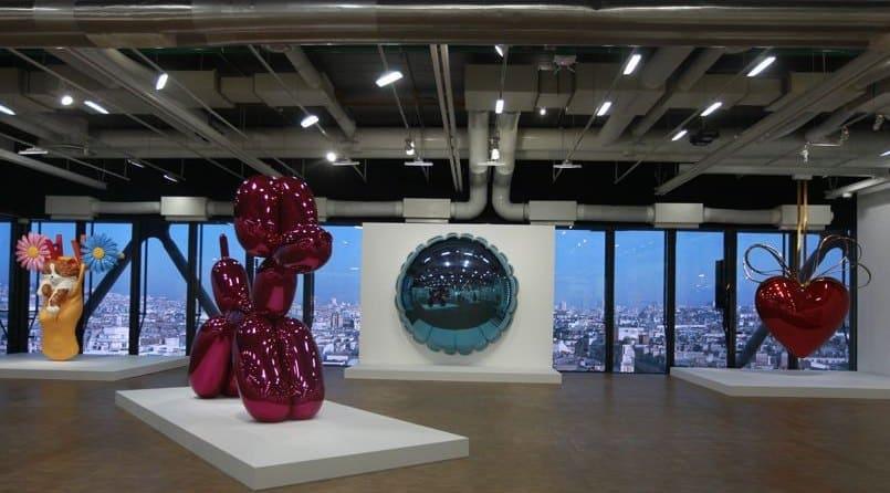 Jeff Koons en Centro Pompidou Paris