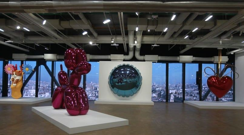 Jeff Koons Contemporary Art Exhibition at Centre Pompidou