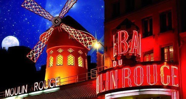 New Year's Eve at Moulin Rouge cabaret Paris 2020