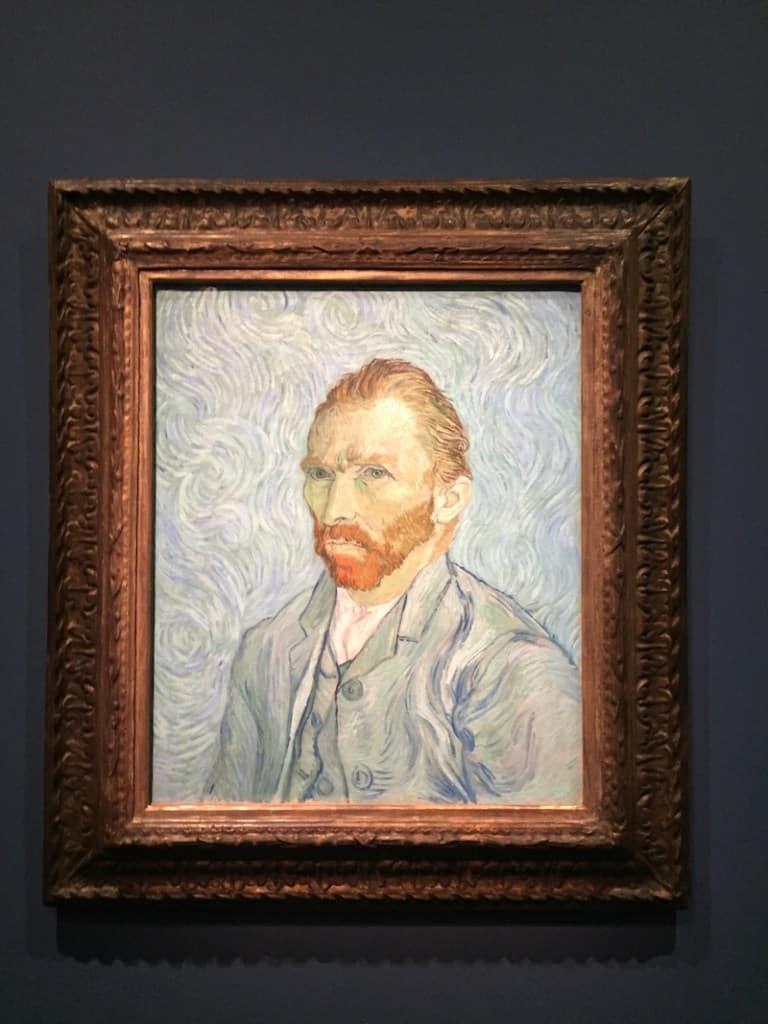 Van Goghs Zelfportret en Musée d'Orsay