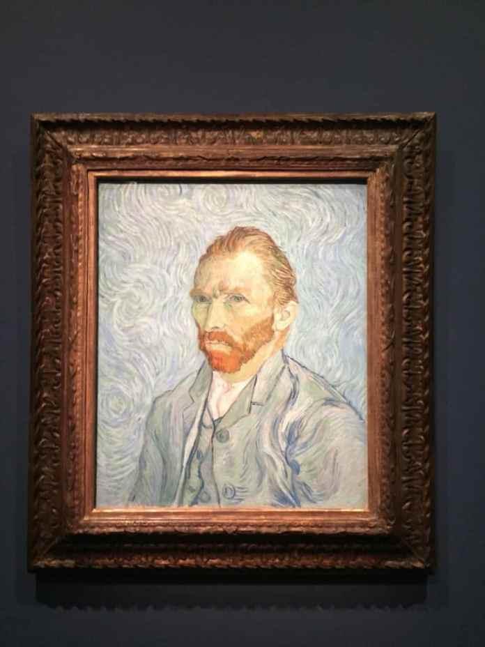 Van Gogh's Self-portrait at Musée d'Orsay