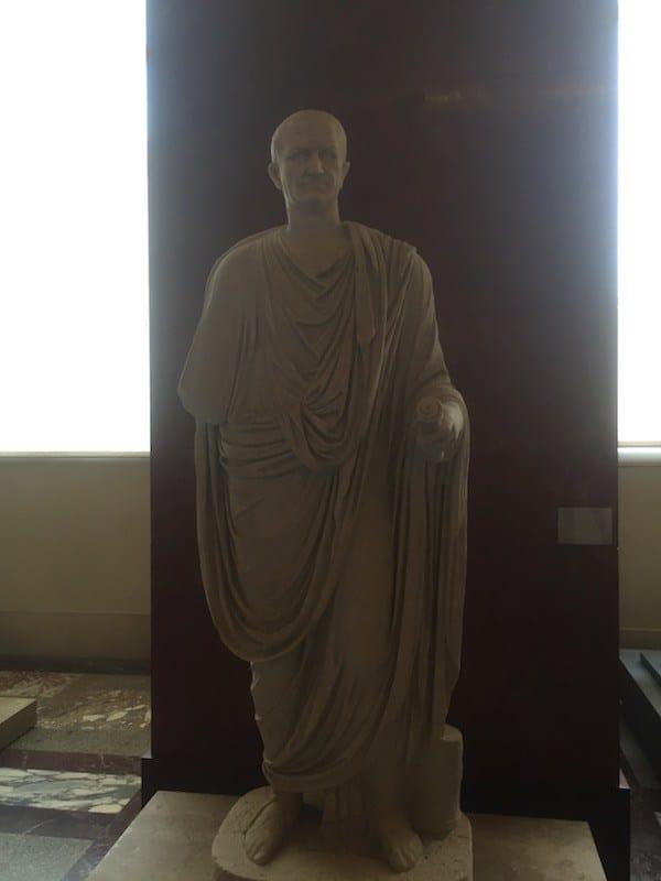 Escultura romana en el Museo del Louvre