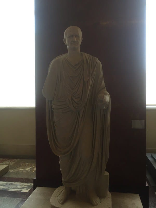 Römische Skulpturen im Louvre